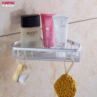 New Bath corner basket thicker bold shelving space aluminum bathroom toilet angle bracket