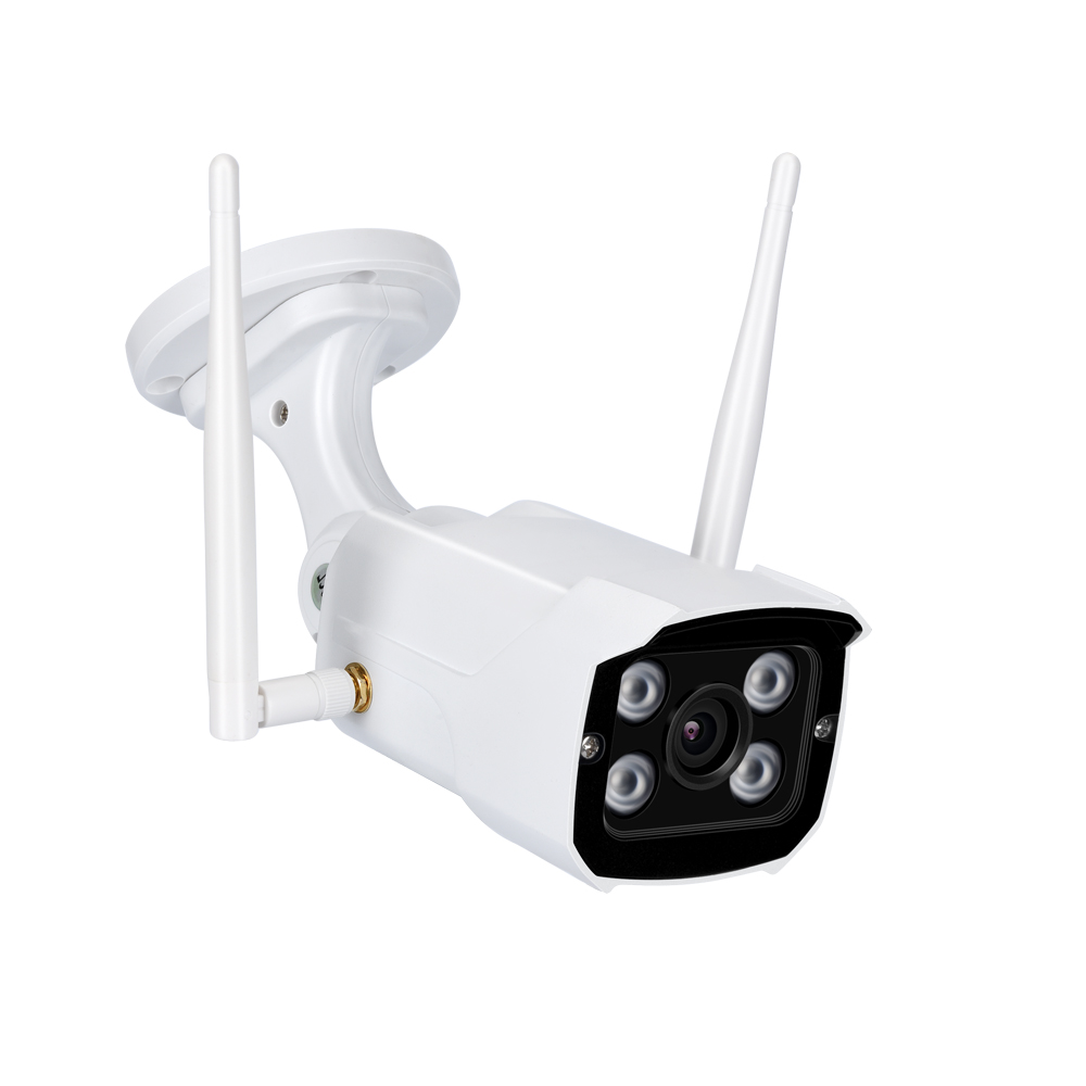 Outdoor Bullet IP Camera WIFI 2MP HD 960P 1080P Audio Microphone Wireless Surveillance CCTV IR P2P with Waterproof Power Adapter wistino cctv camera metal housing outdoor use waterproof bullet casing for ip camera hot sale white color cover case