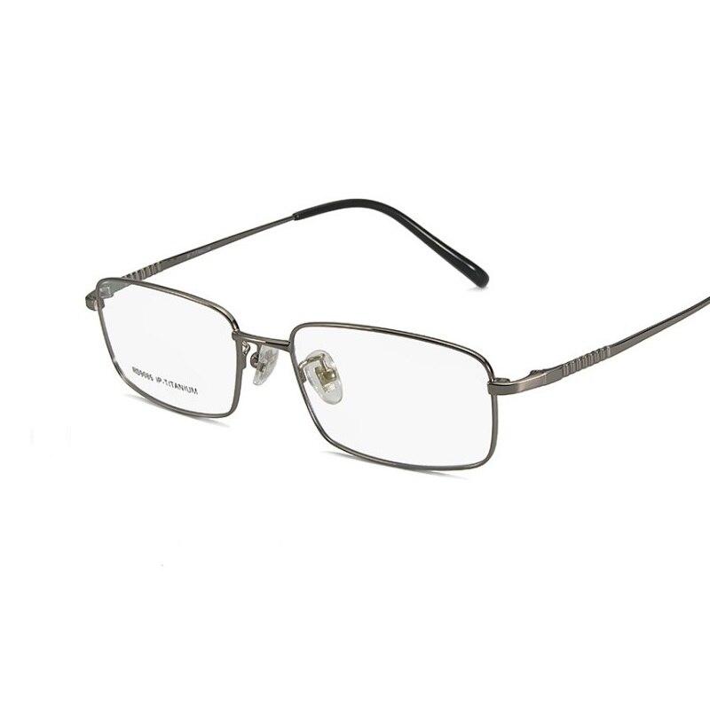 Nouveau rétro de mode optique pur titane lunettes cadre hommes tout-allumette cadre lunettes cadre prescription verre lunettes width-135