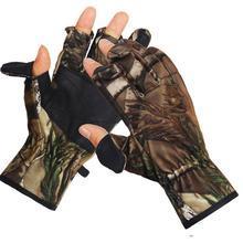 Уличные охотничьи перчатки камуфляжные перчатки для стрельбы рыболовные тактические перчатки для сохранения тепла