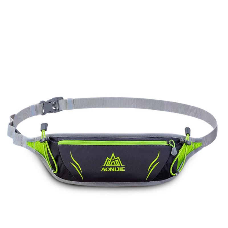 AONIJIE Running Belt Bag Outdoor Waist Bag Sports Waterproof Waist Bags Pack  For Hiking Running Cycling