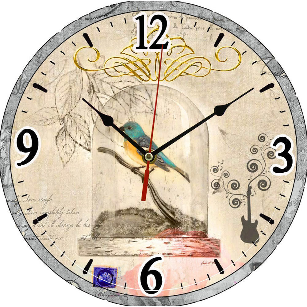 compare prices on wood wall clock design online shopping buy