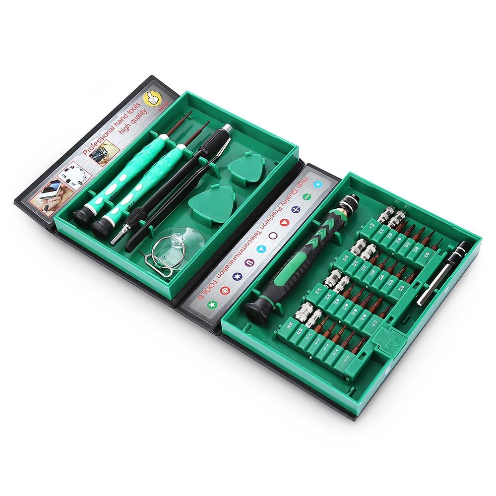 цена на Cell Phone Repair Tool Kit Mobile Phone Repair Tools Set AC-8 38 in 1 Compact Precision Screwdriver Kit Repairing Tool Kit