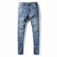 DSEL Brand Fashion Cotton Straight Thin Models Slim Fit Loose Men S Jeans Classic New Denim
