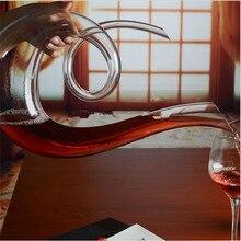 Ручной работы кристалл разливщик красного вина стекло графин бренди декант набор кувшин для бара шампанское бутылка для воды питьевой стекло es подарок