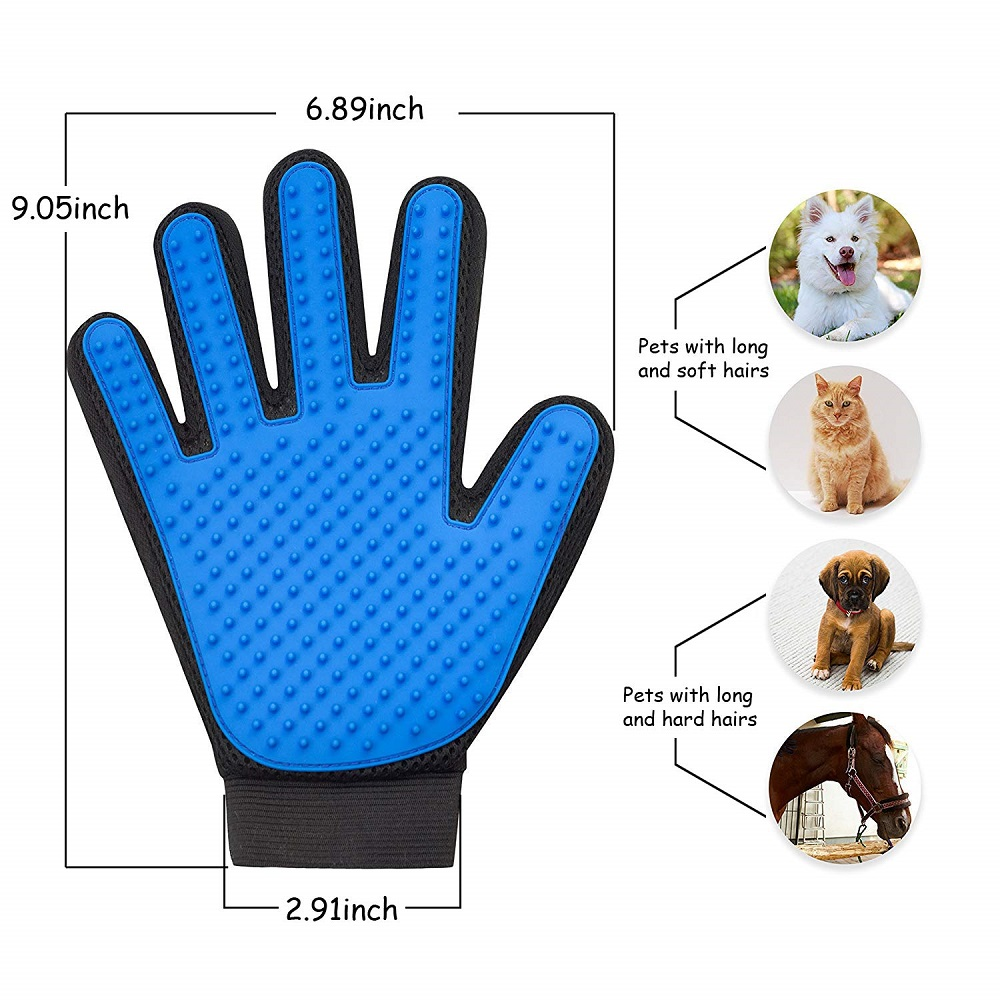 HTB1hYw9TCzqK1RjSZFjq6zlCFXaC Pet Glove Cat Grooming Glove Cat Hair Deshedding Brush Gloves Dog Comb for Cats Bath Clean Massage Hair Remover Brush