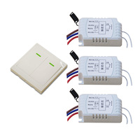 AC 220V Remote Controller Wireless Remote Switch RF RC Wireless Radio Switch Manual Remote Switch Wall