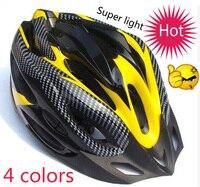 hot ! 4 colori della bici della strada casco in bicicletta super leggero di sport di montagna bicicletta caschi adulti e adolescenti casco trasporto libero