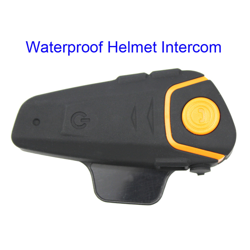 BT-S2 Waterproof Bluetooth  Helmet Intercom Motorcycle Headset Automatic Bluetooth Handfree Intercom & FM Radio(China)