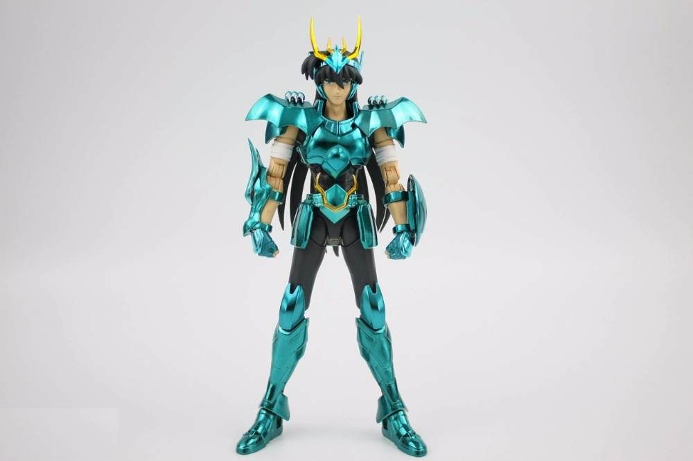 все цены на in stock Dragon Shiryu TV Saint Seiya Cloth EX final VER.3 V3 metal armor GREAT TOYS GT toy PayPal Payment