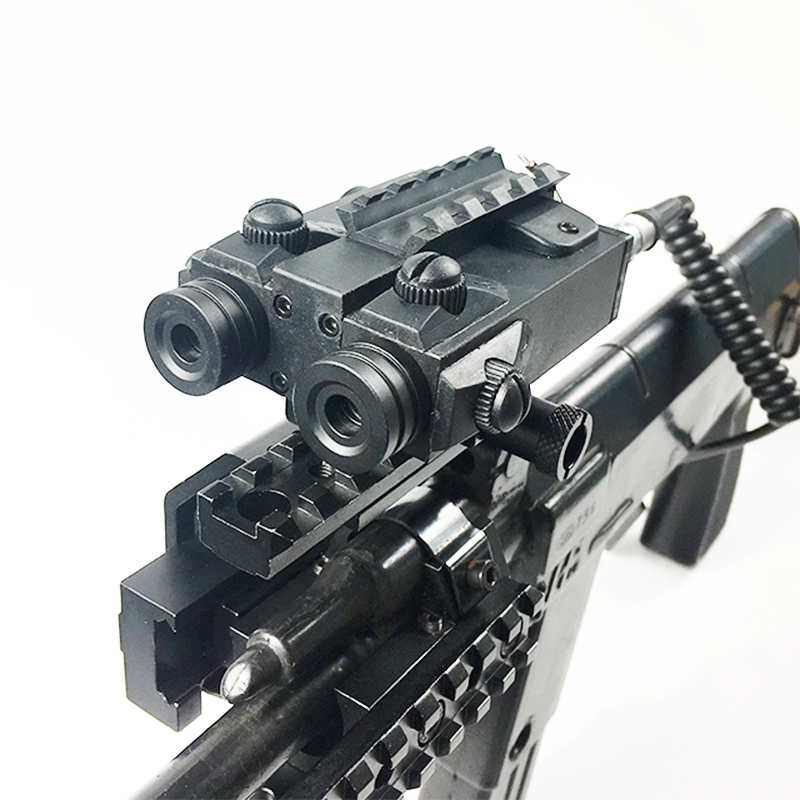 Laserspeed Shooting Dual Laser Pointer Rifle Hunting Military Army Picatinny Weaver Tactical Laser Sight