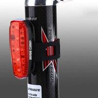 자전거 라이트 후면 야간 안전 미등 경고 3 모드 usb 충전식 자전거 라이트 테일 램프 led 사이클링 테일 램프 혜성