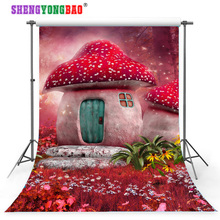 SHENGYONGBAO Fairy tale  theme Vinyl Custom Photography Backdrop Prop Photo Studio Backgrounds TH10