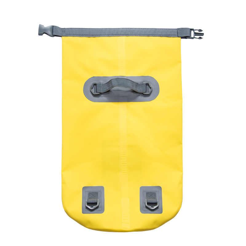 5L/10L/15L/20L 防水バッグ収納ドライサックカヌーカヤック屋外スポーツ水泳バッグ旅行キットバックパック