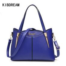KIBDREAM 2016 Neue Mode frauen Leder Umhängetaschen Berühmte Desinger Frauen Handtaschen Hochwertige Dame Business Messenger Bags