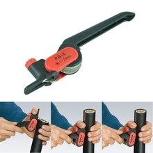 Храповое колесо типа для зачистки кабеля Нож PG-5 для зачистки кабеля 25 мм круглый стрипер кабель пилинг плоскогубцы, инструмент для зачистки кабеля