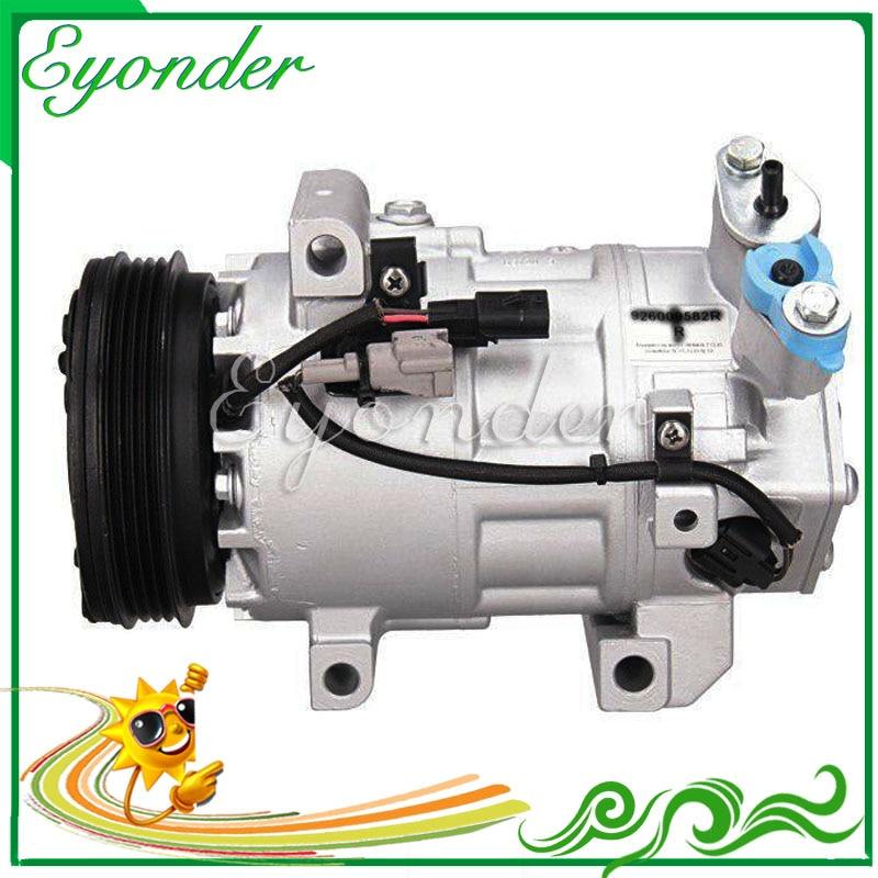 A/C Aria Condizionata Compressore Pompa di Raffreddamento VCS14EC per Renault CLIO IV 1.2 926009582R 92600-9582R Z0012439A 813381 C813381U