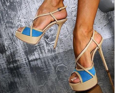 As Colores Señoras Mujeres Cruzadas Zapatos High Strappy Mujer Partido Abiertos Plataforma Pic Mixed Sandalias Thin Las Toe Heels Para Peep Verano Del g0R6RH