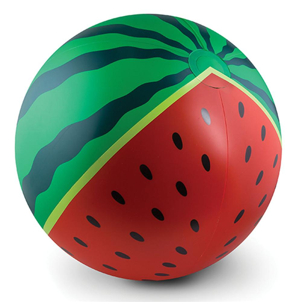 LeadingStar Diameter 90cm Watermelon Shape Inflatable Beach Ball Parent-child Interactive Water Play Toy