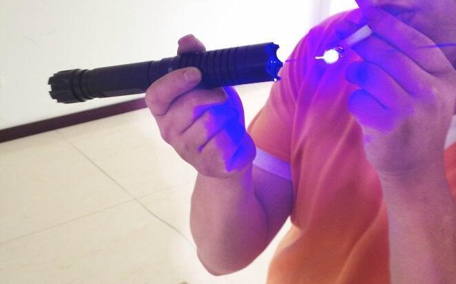 2018! NEW High Quality 50000m Super Blue Laser Pointer 450nm Flashlight Burning Cigarette /Cutting / Blue Illuminat With 5 Heads