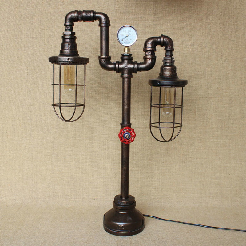 Water Pipe Table Lamps 15
