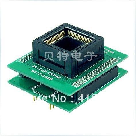 SmartPRO X5/X8 programming block burning PLCC68, ZY168B test/adapters imports of ic ots 28 0 65 02 block ssop28 burn test programming adapters