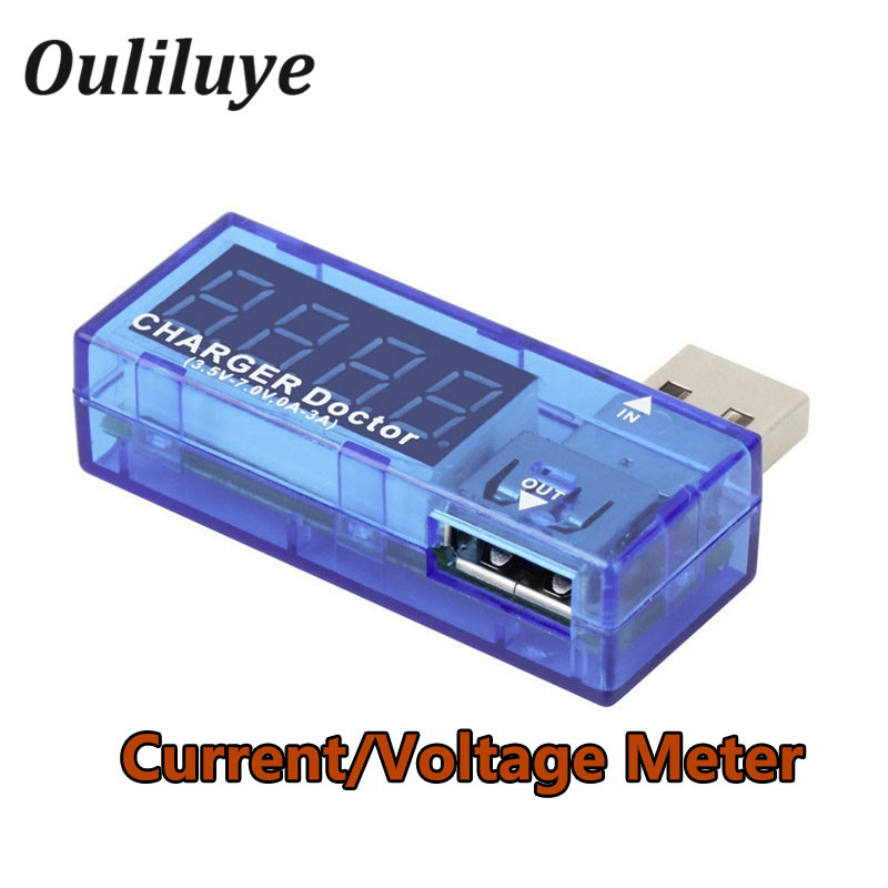 8 in1 <font><b>DC</b></font> USB Tester Current 4-<font><b>30V</b></font> USB Battery Tester Voltage Meter Timing Ammeter Digital Monitor Cut-off Power Indicator image