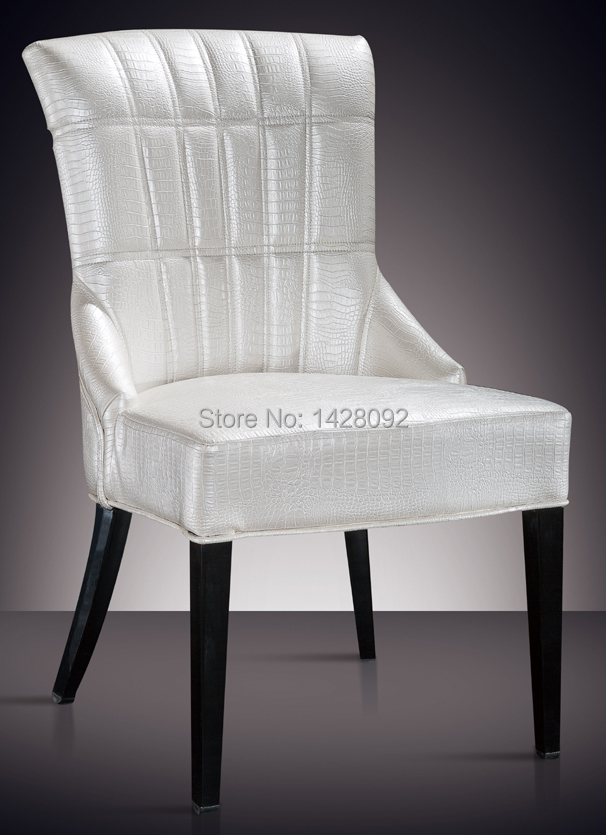 European and American style comfortable white upholstered