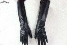 HHZWFUR free shopping gloves Genuine Leather women Spring and Autumn winter