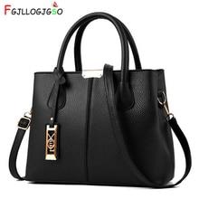 купить FGJLLOGJGSO Women's handbag 2019 New Women Messenger bag Casual Women PU Leather Handbags Lady Classic Shoulder Bags Female Tote по цене 1025.82 рублей