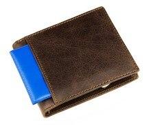 8054B Free Shipping JMD 100% Genuine Leather Men Wallet Fashion Notecase Billfolds Purse