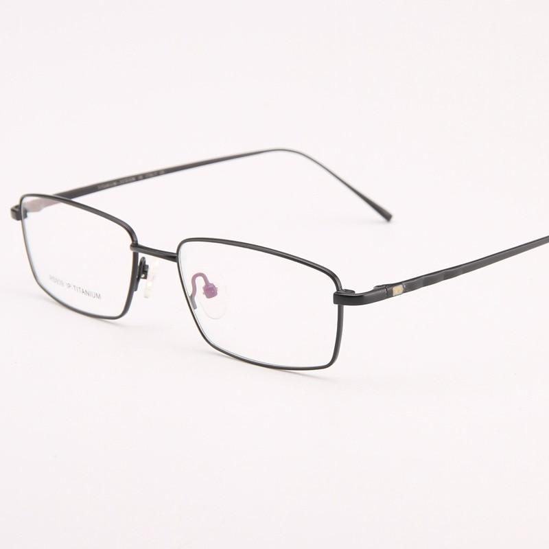 27a981fb4c86 Viodream Pure Titanium Men Business Ultra Light Full Glasses Frame Myopia  Prescription Eyewear Eyeglasses Frames Oculos De Grau-in Eyewear Frames  from ...