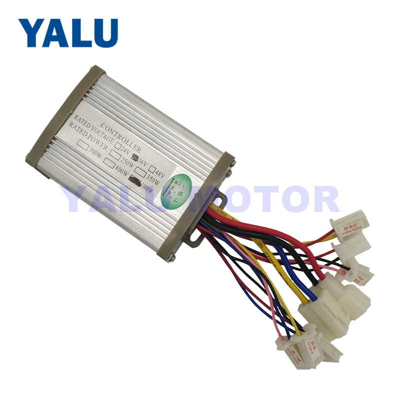 Electric Bicycle Controller 24V 36V 48V 1000W DC Brushed For E bike Scooter Skateboard Part Fit Battery Motor Engine Part-in Electric Bicycle Accessories from Sports & Entertainment