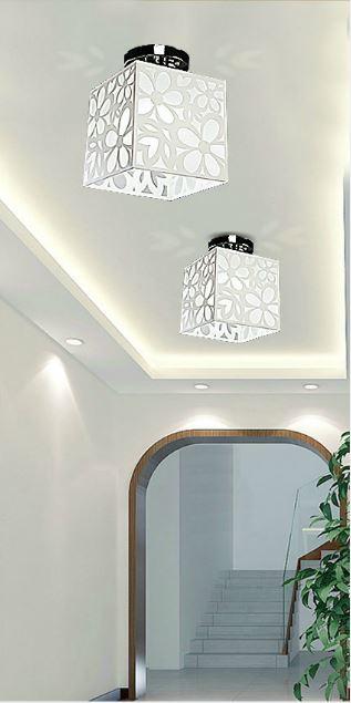 Beleuchtung Balkon | Modernen Minimalistischen Innendeckenleuchte Acryl Licht Halle