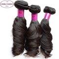 Brasileiro Do Cabelo Virgem Funmi tia Cachos Saltitantes 3 Pacotes Molhado e ondulado brasileiro virgem funmi hair curly weave do cabelo humano feixes