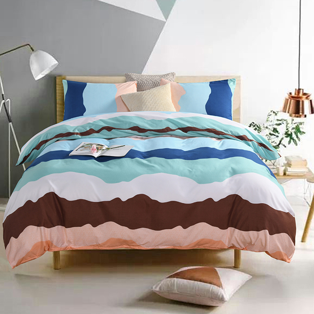 Simple bedding set Bed Linens American style comfortable bed linen home textiles American double large duvet cover adult bed in Bedding Sets from Home Garden