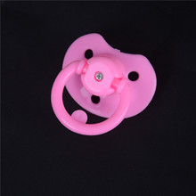 Pacifiers For Reborn Baby Doll Handmade DIY Pacifiers Nipples Dummy Fit For Doll Random Color