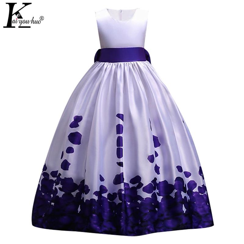 62cbc391b Flower Girls Wedding Dress Summer Children Evening Party Dresses Kids  Dresses For Girls Vestidos 4 5