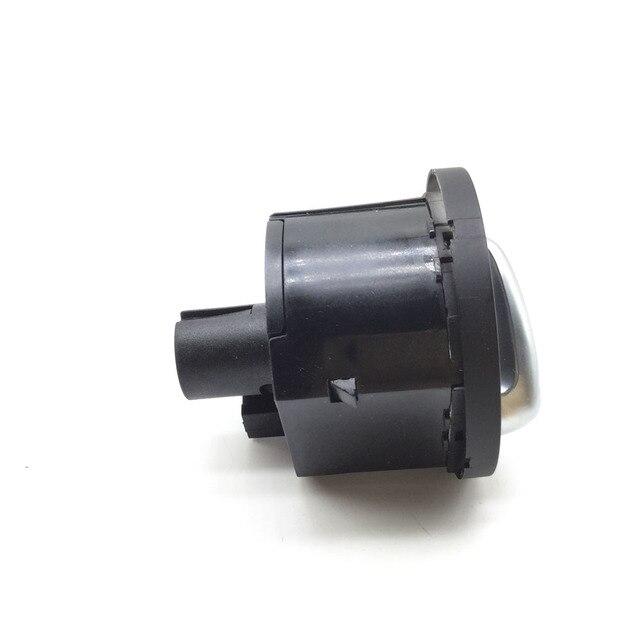 Interrupteur de phare pour Skoda Octavia II 1Z3 1Z5 04-13 Interruttore Devioluci Cromato Auto 1Z0941431K 1Z0 941 431 K,1Z0 941 431 K