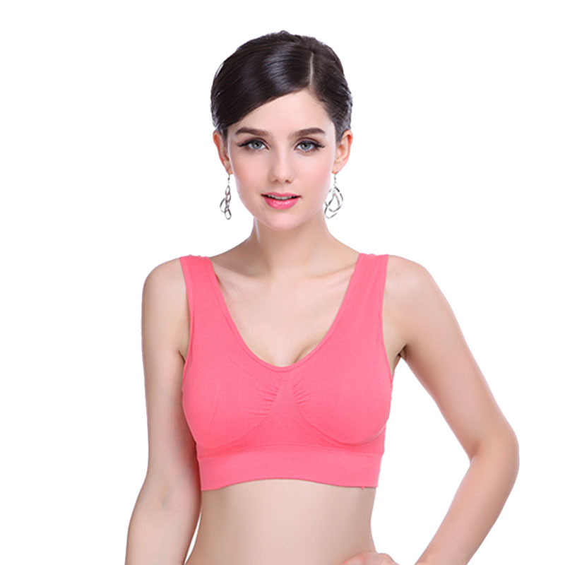 Women Bra Deporte Slim Fitness Athletique Wrap Chest Strap Vest Crop Top Seamless Bra Pure Padded Stretch Push-up Bra Vest Xxxl Uhren & Schmuck