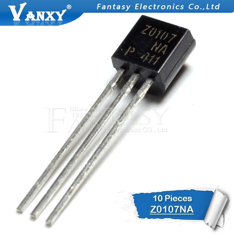 10pcs Z0107NA TO-92 Z0107N TO92 Z0107 Transistor New Original