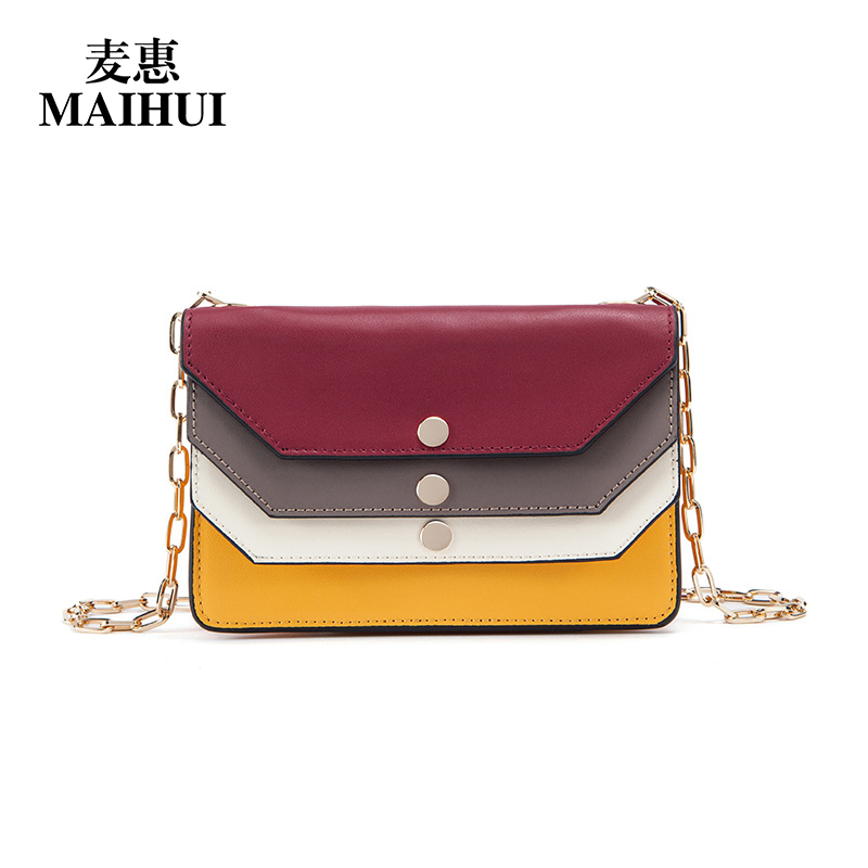 Maihui cow genuine leather bag 2017 new fashion shoulder crossbody bags for women messenger high quality small chain flap bags woyo auto car remote control tester tool diagnosis all types of infra red rf radio frequency 10 1000mhz remote control tester