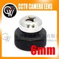 5 unids/lote 6mm Tornillo de la lente Lente del Tablero de 53 Grados De Seguridad CCTV Cámara Envío Gratis