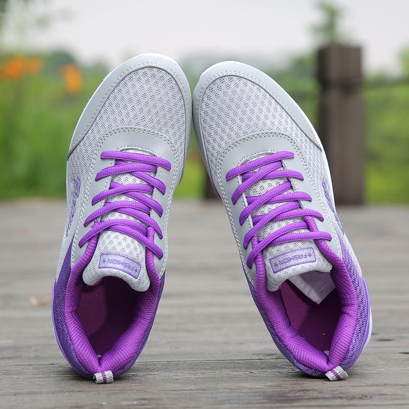 Casual Shoes Women Super Light Sneaker Female Platform Sneakers 1