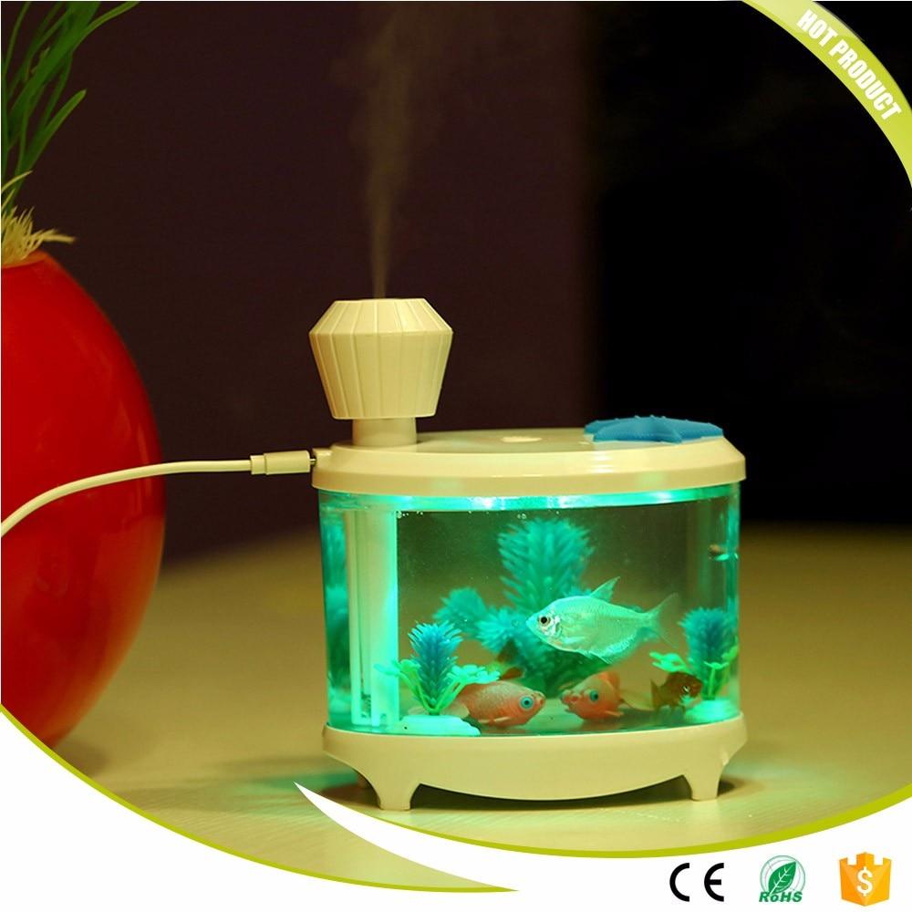 Fish Tank Humidifier Ultrasonic Humidifier Aroma Essential Oil Diffuser Led Difusor De Aroma Aromatherapy Diffuser Mist Maker fish oil в аптеке