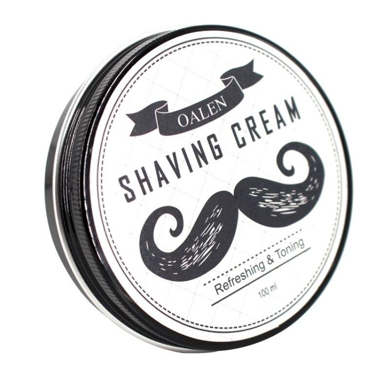 100% Natural Smooth Shaving Cream Beard Care Shaving Cream