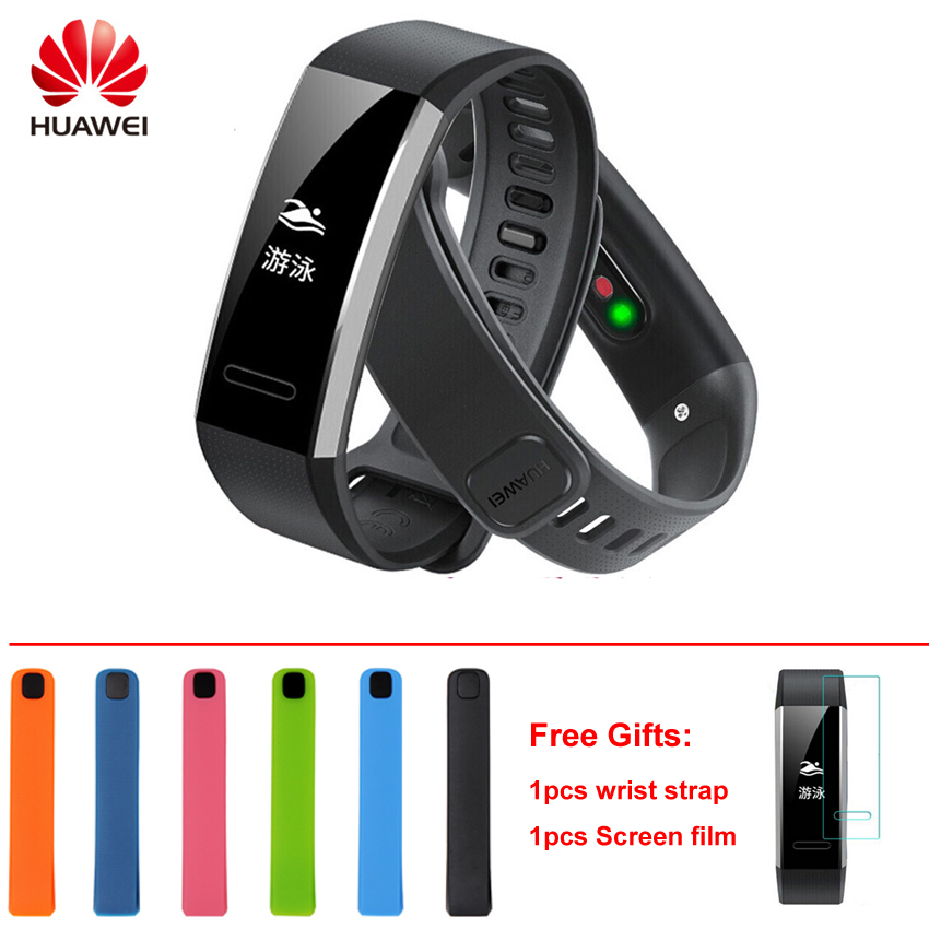 Huawei Band 2 Pro B29 19Smart Bracelet Fitness GPS Tracker Smart Wristband OLED Swimming Heart Rate monitor Waterproof Bluetooth original huawei band 2 pro b29 b19 smart wristband for monitor fitness 50m swim waterproof bluetooth oled sport band