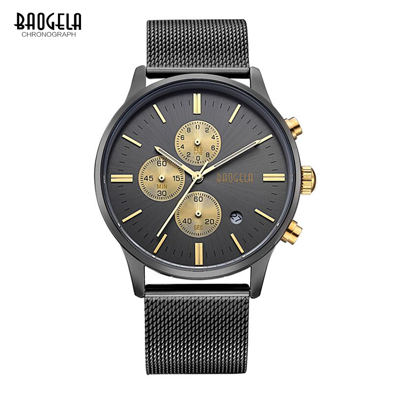 BAOGELA Χρονογράφος Νέο ρολόι χαλαζία - Ανδρικά ρολόγια - Φωτογραφία 6