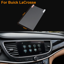 Car Styling 8 Inch GPS Navigation Screen Steel Protective Film For Buick LaCrosse Control of LCD Screen Car Sticker
