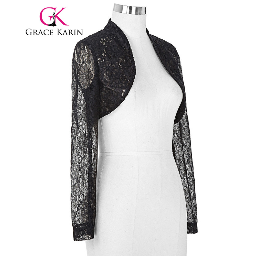 Womens black jacket for wedding
